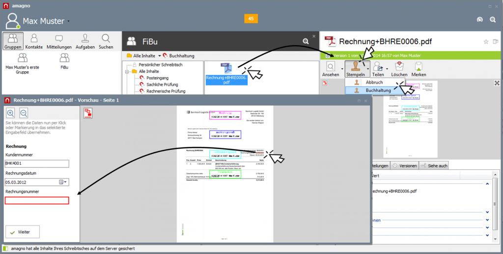 img clickfilling 1024x517 - Wie erstelle ich einen Workflow für eine Posteingangsbearbeitung?
