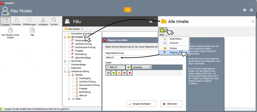 img createmagnet abbruch 1024x448 - Wie erstelle ich einen Workflow für eine Posteingangsbearbeitung?