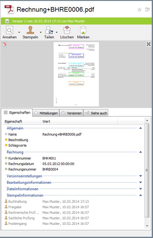 img toolbox clickfilling rechnung - Wie erstelle ich einen Workflow für eine Posteingangsbearbeitung?