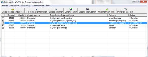 datev belegonline - AMAGNO mit DATEV verbinden