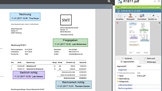 Digitaler Rechnungsworkflow