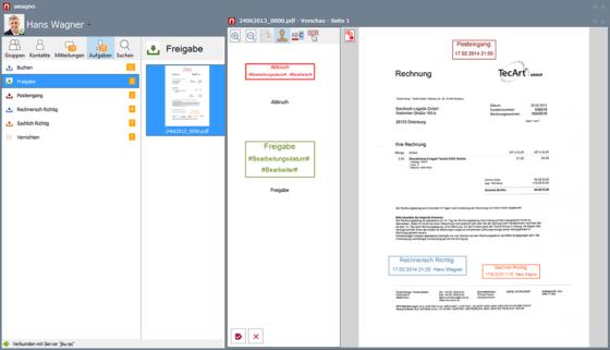 Digitaler Posteingang Eingangspostverarbeitung mit DMS