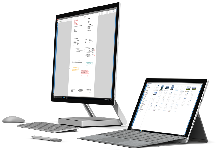 surface devices small - AMAGNO On Premise