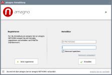 amagno anmeldefenster 1 223x150 - Anmeldung und Auswahl AMAGNO Server - Erste Schritte