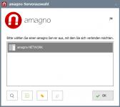 amagno server auswahl 1 168x150 - Anmeldung und Auswahl AMAGNO Server - How to