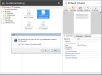 dokumentenmanagement versionierung 205x150 - Dokumente zusammenführen für automatische Versionierung