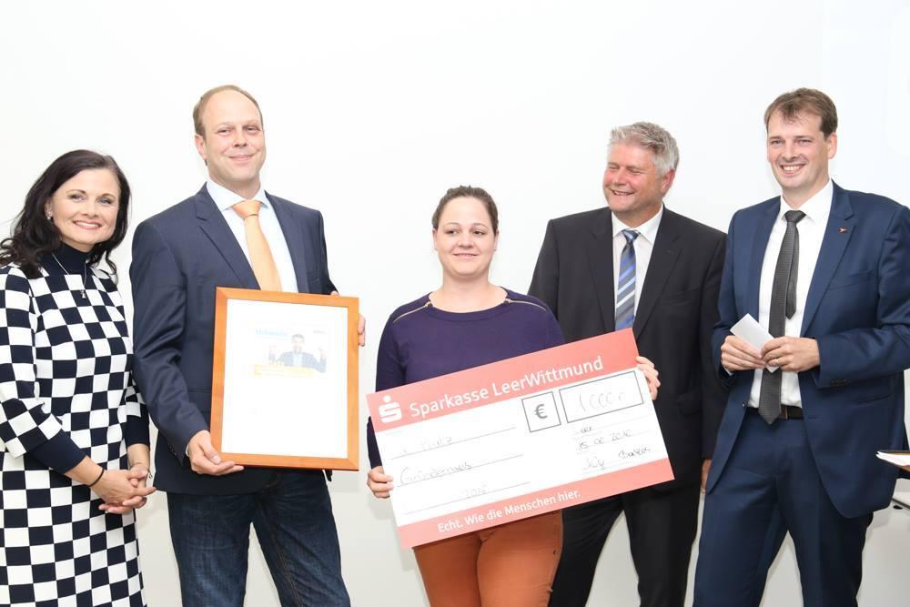 2. Platz Gründerpreis Nordwest 2016