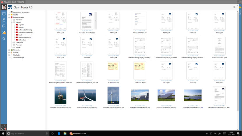 amagno dokumentenmanagementsystem 830x467 - Interaktive Dokumente im Dokumentenmanagementsystem