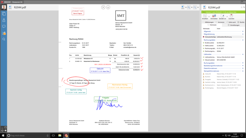 Interaktive Dokumente mit AMAGNO 5