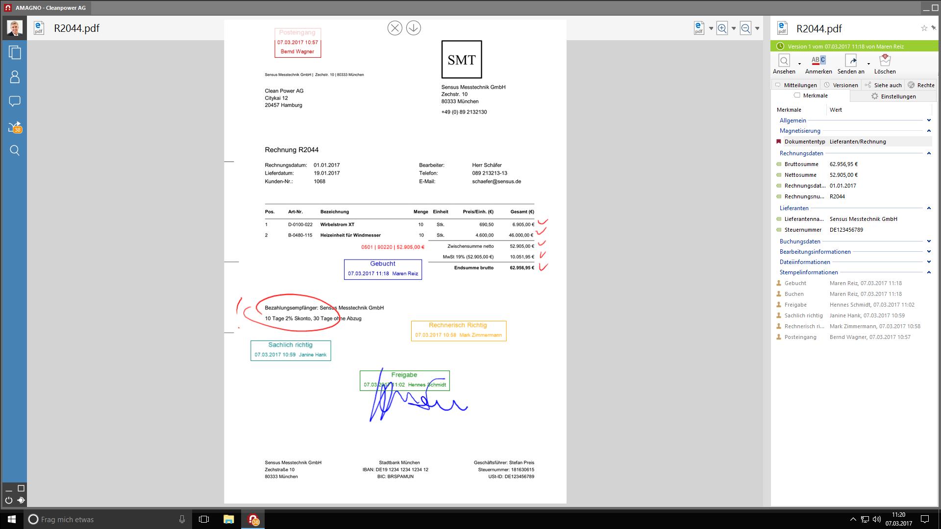 Interaktive Dokumente - AMAGNO 5 - Design