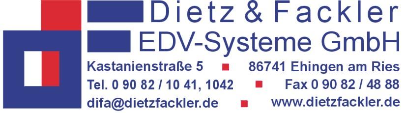 Dietz Fackler Logo - Vertriebspartner