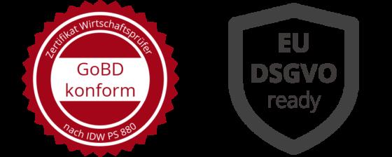 GoBD DSGVO Logos 560x224 - Enterprise Content Management ECM