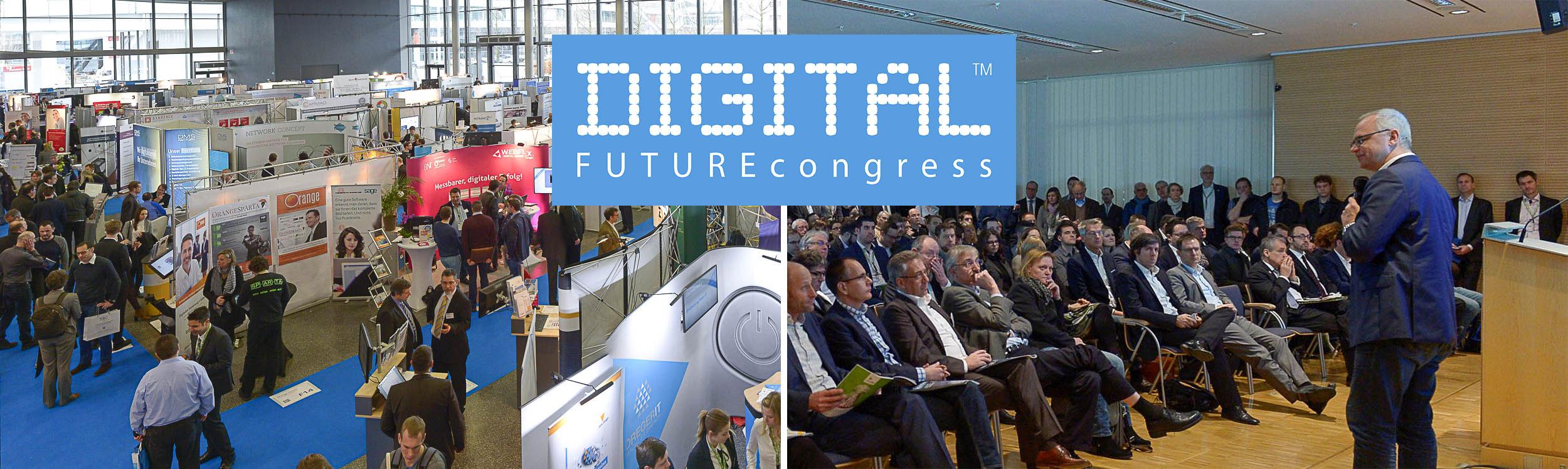 DIGITAL FUTURE congress 2019: Wir sind dabei!