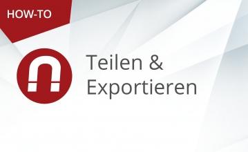 Teilen und Exportieren 359x220 - Startseite