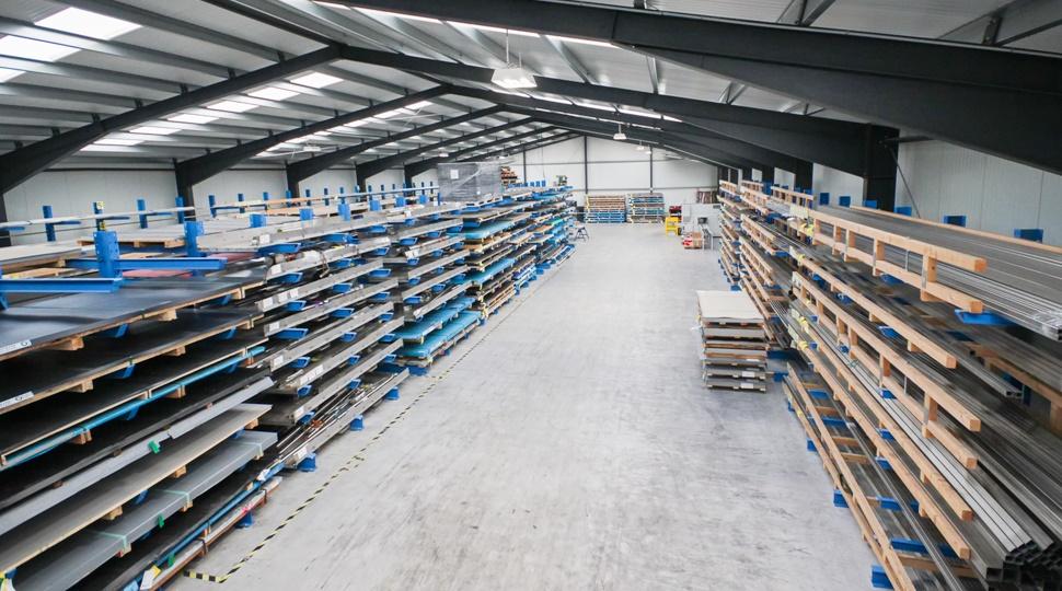 Bild Lager - Anwenderbericht Kleemann Edelstahlservice & Logistik