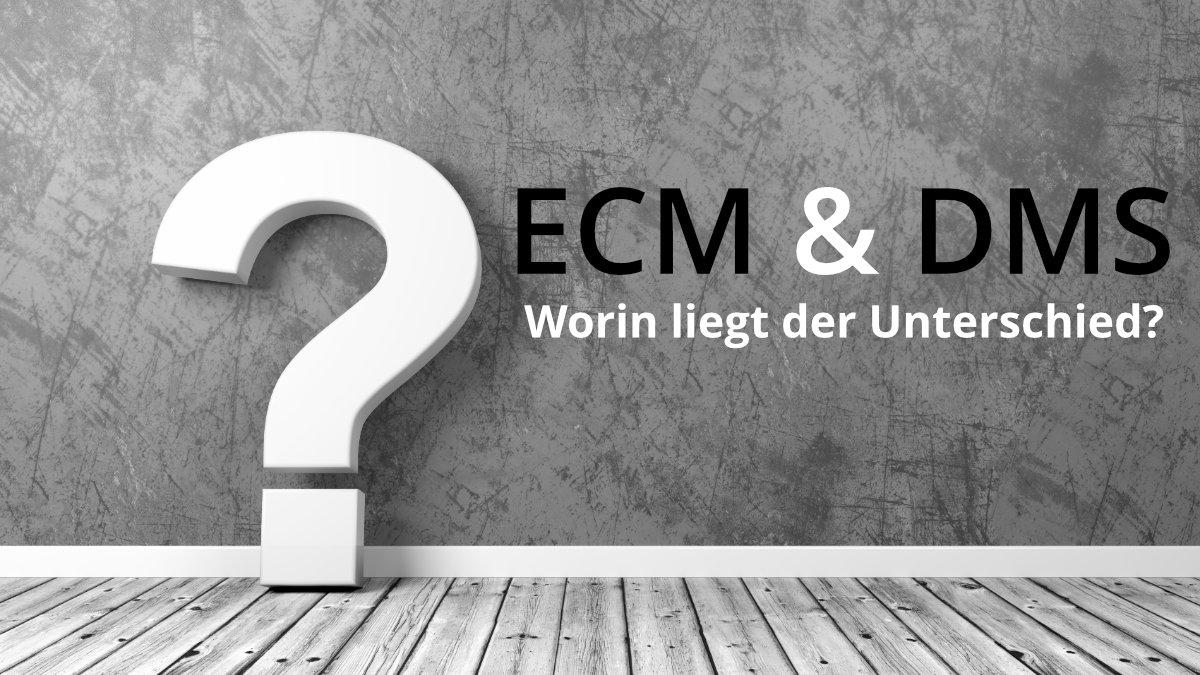 ECM, DMS und Co: die Welt der undurchsichtigen Akronyme – Eine Aufklärung