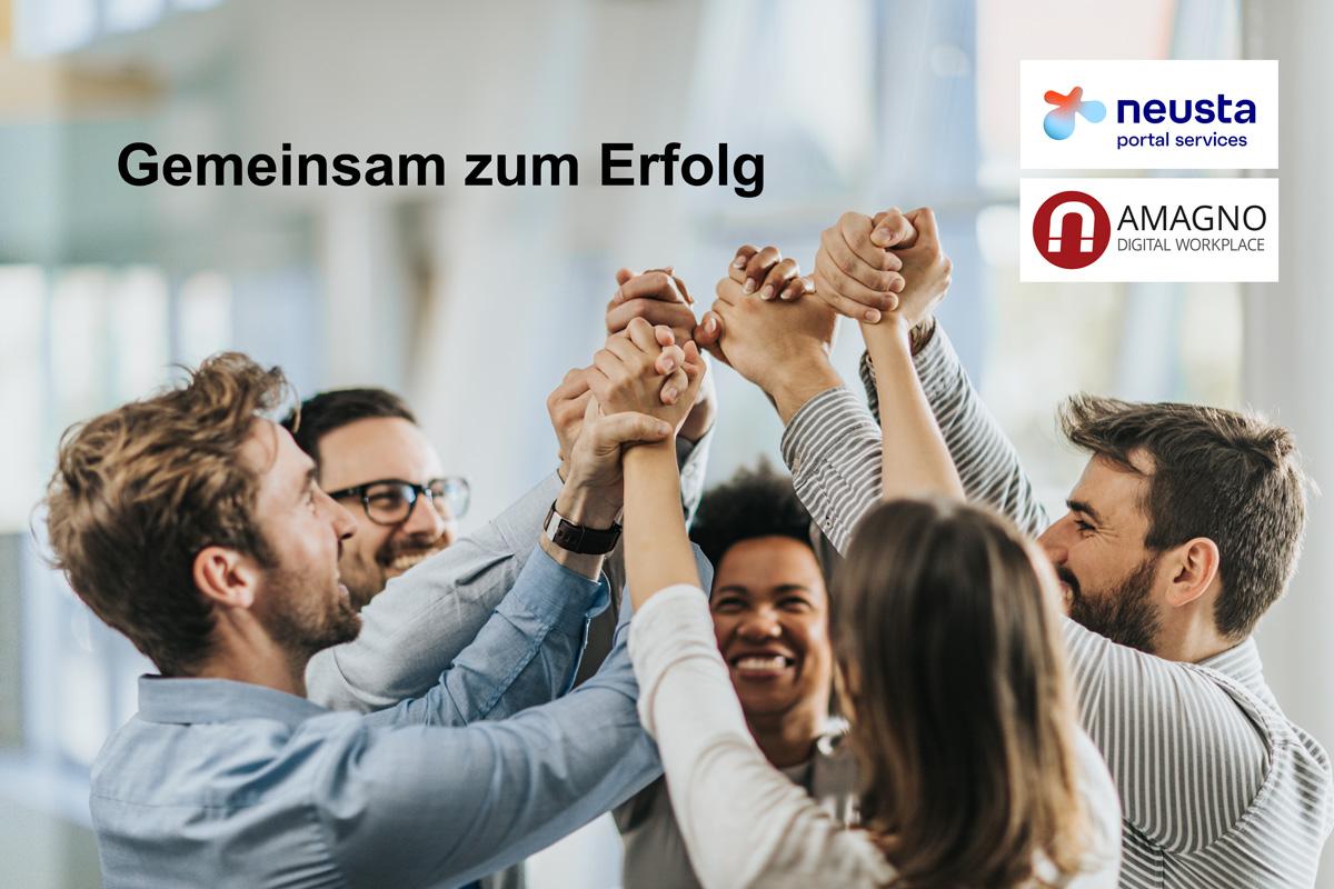 neusta portal services sind neuer AMAGNO-Partner