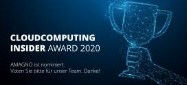 CloudComputing-Insider-Award 2020: Wir sind nominiert!