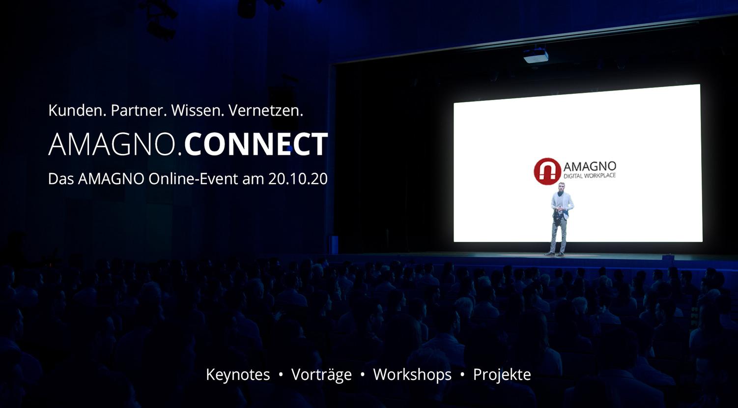 """Digitalevent """"AMAGNO.CONNECT"""": Weil gemeinsam verbindet"""
