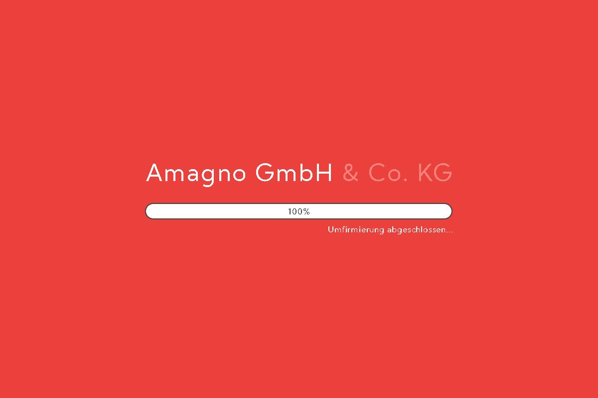 Wir sind jetzt die Amagno GmbH