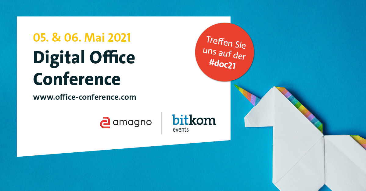 Resilient, effizient, digital: Digital Office Conference 2021